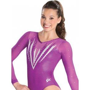 Gymnastikdragter med  lange ærmer